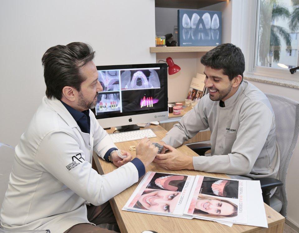 Inteligência no tratamento, dentista Guilherme Castro