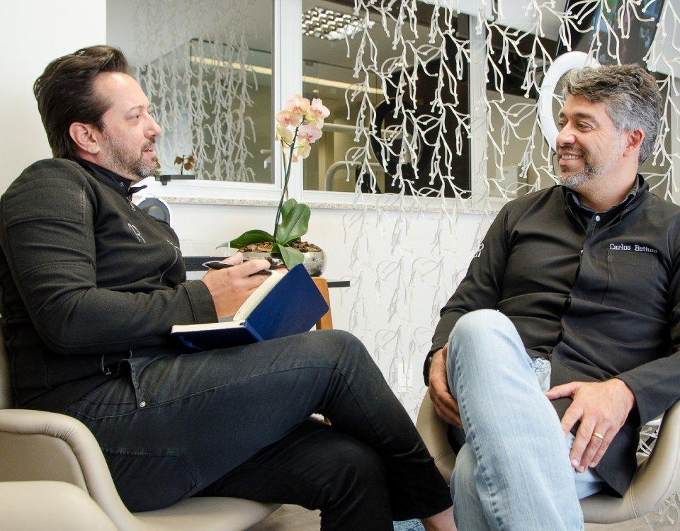 Odontologia moderna, com o dentista Carlos Betonni